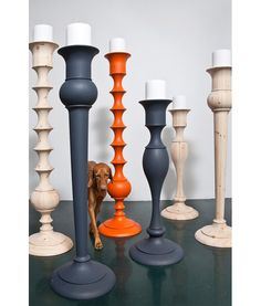 Love the bright pop of orange!  Would totally make ikeas Ekarp floor lamp look awesome painted orange. #styledby