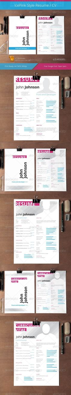 3 Types Of Resumes Custom Simple Resume  Simple Resume Letter Size And A4