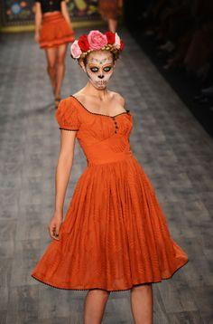 Fashion Show: Mercedes-Benz Fashion Week: Lena Hoschek Spring/Summer 2013