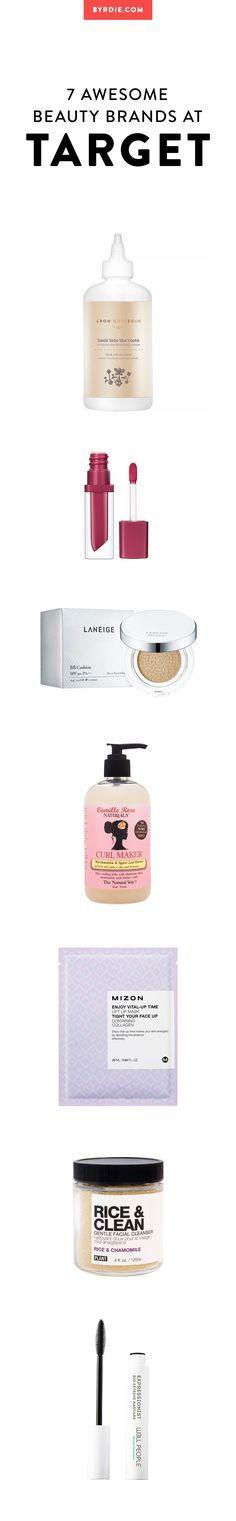 The best beauty brands at Target | www.byrdie.com  #Target #beauty #makeup