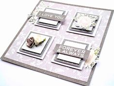 Set of cards created using the Two Souls collection for Kaisercraft by Lisa Amiet Wedding Album, Wedding Cards, Some Cards, Love You Forever, Scrapbooking Layouts, Wedding Engagement, Cardmaking, Gallery Wall, Anniversary