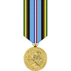Armed Forces Expeditionary Anodized Miniature Medal