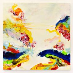 Buy NA423, a Acrylic on Canvas by Radek Smach from Czech Republic. It portrays: Abstract, relevant to: positive, spring, summer, yellow, colorful, contemporary, dream, energy, expressive, abstract, light, meditation Radek Šmach - Original abstract painting on canvas.   My works are included in the Saatchi Art featured collections and are part of many private collections all over the world.  Ready to hang. No framing required (it can be framed). Signed on the back.  Finished with coats of…