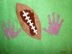 20 Awesome Football Preschool Theme Images Football Crafts