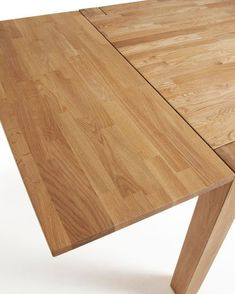 Table extensible Isbel 140 x 90 cm Table Extensible, Bamboo Cutting Board, Patio, Wood, Kitchen, Exterior, Furniture, Home Decor, Chairs