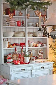 Gingerbread display for Christmas