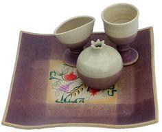 Carmel Gifts - Ceramic Havdallah Set, $165.00 (http://www.carmelgiftshop.com/judaica-and-jewish-holidays/sabbath-and-holiday/ceramic-havdallah-set/)