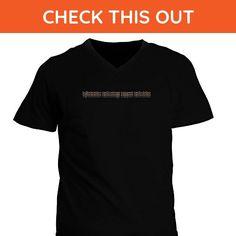 Idakoos - Information Technology Support Technician repeat retro V-Neck T-Shirt - Retro shirts (*Amazon Partner-Link)