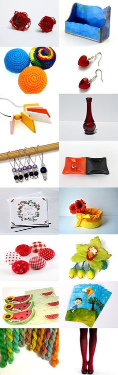 Color Monday  by Lauren Constantino on Etsy--Pinned with TreasuryPin.com #giftideas #handmade #etsy