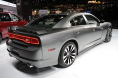 Charger: 2012 gray S/RT (passenger side rear)