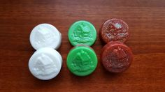 Mini Holiday Soaps with Gingerbread House design