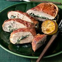 Prosciutto Wrapped Chicken Stuffed With Ricotta And Spinach