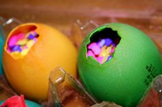 Easter tradition: Cascarones- confetti filled eggs - a Mexican tradition explained and enjoyed