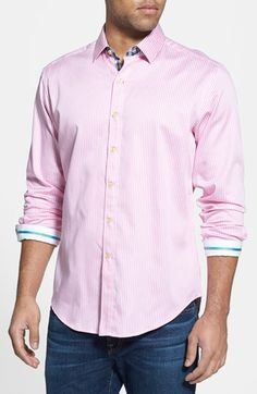 Robert Graham 'Excalibur' Tailored Fit Sport Shirt available at #Nordstrom