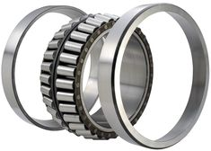 Double row tapered roller bearings can carry heavy radial and axial loads and are stiff, the axial load carrying capacity of tapered roller bearings increases with increasing contact angle, and are easy to be mounted and dismounted.  Size range: 90 mm to 950 mm OD Whatsapp: 8615867801445 Email: cojinetebearings@outlook