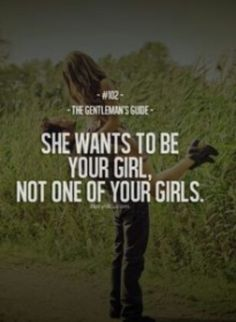 Not one of your girls