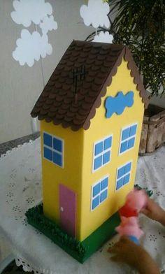Casa da Peppa em EVA.
