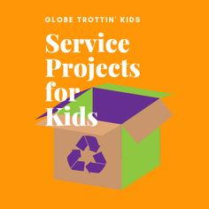 Ideas and projects for engaging kids in community service. Service Projects For Kids, Community Service, Ideas, Thoughts