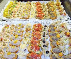 Canapes Frios Te enseñamos a cocinar recetas fáciles cómo la receta de Canapes Frios y muchas otras recetas de cocina.