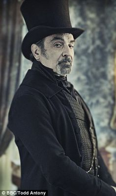 Miss Havisham's lawyer Mr Jaggers, is played by David Suchet. BBC's 'Great Expectations'.