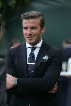 Swoon…David Beckham