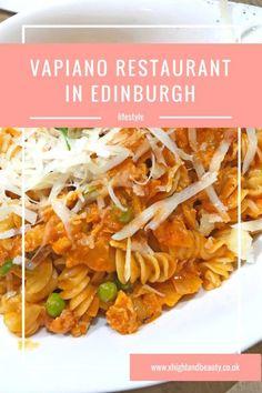 Vapiano Restaurant in Edinburgh