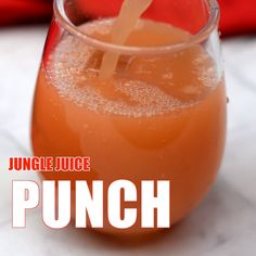 Easy Jungle Juice Recipe is the best punch drink for a party crowd. The ingredients include alcohol like rum and vodka and then a mix of fresh fruit and juice. You can easily make this cocktail on a budget! Mixed Drinks Alcohol, Party Drinks Alcohol, Alcohol Drink Recipes, Alcoholic Punch Recipes Vodka, Orange Juice Alcoholic Drinks, Drinks With Fireball, Vodka Summer Drinks, Summer Alcoholic Punch, Mixed Drinks With Rum