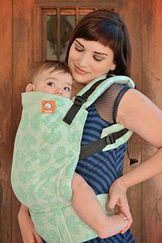 (Standard Size) Half Wrap Conversion Tula Baby Carrier - Oscha Tree of Life