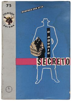 Cover allegedly by Antonio Andrade Albuquerque, a detective story writer/editor.