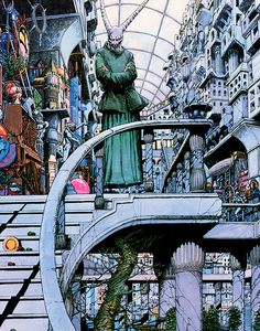 Thoth Amon Art by Barry Windsor-Smith