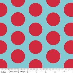 Riley Blake Designs Fabric Large Dots Cotton 44 by livewholly4him
