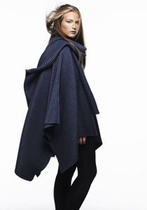 pleece ponchos by Marianne Abelsson for the Baltic
