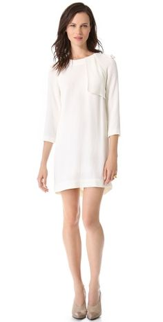 A.L.C. Svieta Dress White from http://yourproductsfinder.com/?p=2778 #Dresses #White Dresses