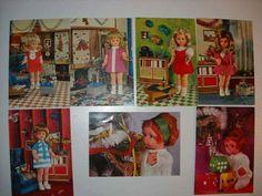 Retro Dolls Retro 1, Retro Toys, Baseball Cards, Dolls, Painting, Art, Baby Dolls, Art Background, Puppet