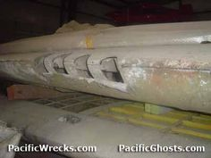 Frankie 1 wings - stored at the Pima Air & Space Museum, Pima, Arizona