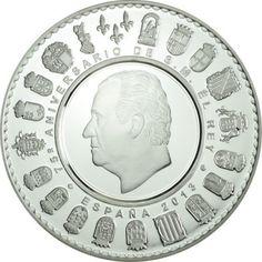 50 Euro Silber 75. Geburtstag von König Juan Carlos I PP