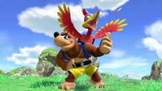 During Nintendo's big presentation, they revealed that fan-favorite gaming icons Banjo & Kazooie were being added to Super Smash Bros. Ultimate as DLC. Super Smash Bros, Pichu Pokemon, Microsoft, Banjo Kazooie, Nostalgia, Sea Of Thieves, Drops In The Ocean, After All These Years, Last Game