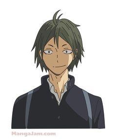 How to Draw Tadashi Yamaguchi from Haikyuu - MANGAJAM.com Yamaguchi Haikyuu, Yamaguchi Tadashi, Haikyuu Karasuno, Haikyuu Anime, Tsukkiyama, Cute Anime Pics, Manga Characters, Memes, Anime Guys