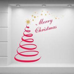 ADESIVI-MERRY-CHRISTMAS-NATALE-VETROFANIE-VETRINE-NEGOZI-CM-100X95