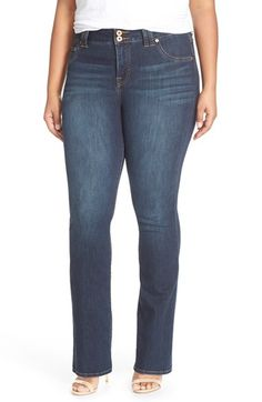 Lucky+Brand+'Emma'+Stretch+Bootcut+Jeans+(Plus+Size)+available+at+#Nordstrom