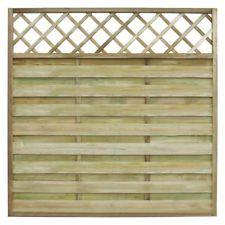 Wooden Garden Fence Panel Trellis Lattice Climbing Plants Fencing - All About Wooden Trellis, Trellis Fence, Garden Fence Panels, Garden Fences, Decorative Garden Fencing, Wooden Garden, Fence Construction, Modern Fence, Metal Fence