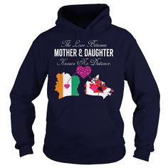 THE LOVE BETWEEN MOTHER AND DAUGHTER - IVORY COAST CANADA T-SHIRTS, HOODIES, SWEATSHIRT (39.99$ ==► Shopping Now)