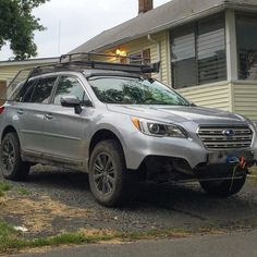 Lifted Subaru Outback