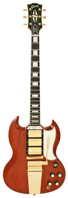 Gibson Custom Shop SG Custom with Maestro Vibrato - Cherry