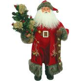 Found it at Wayfair - Reindeer Claus with Bells Hanging from Hand Figurine