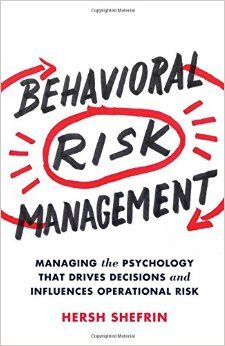 A critical lesson from psychological studies for those involved in risk management is that people's judgments and decisions about risk vary with type of circumstance. In Behavioral Risk Management readers will learn that there are specific actions that organizations can undertake to incorporate understanding, recognition, and behavioral interventions into the practice of risk management.