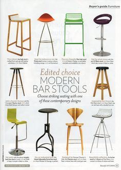 Beautiful Kitchens July 12 bar stool