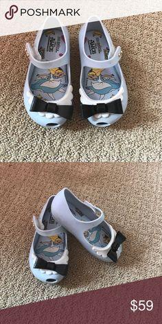 Mini Melissa size 7 Alice and wonderland size 7 Mini Melissa Shoes