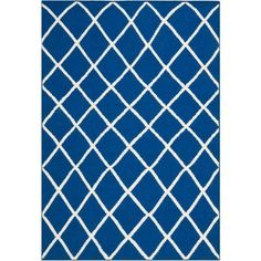Safavieh Dhurries Dark Blue 3 ft. x 5 ft. Area Rug - DHU565A-3 - The Home Depot $62.72