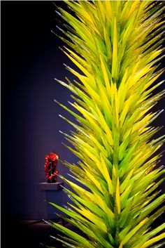Now and Ben - From the Chihuly Gallery in Las Vegas